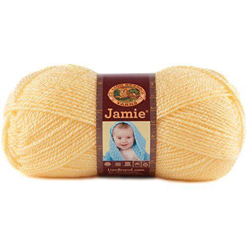 Lion Brand Jamie baby yarn 137 yds each Blue bonnet lot of 2
