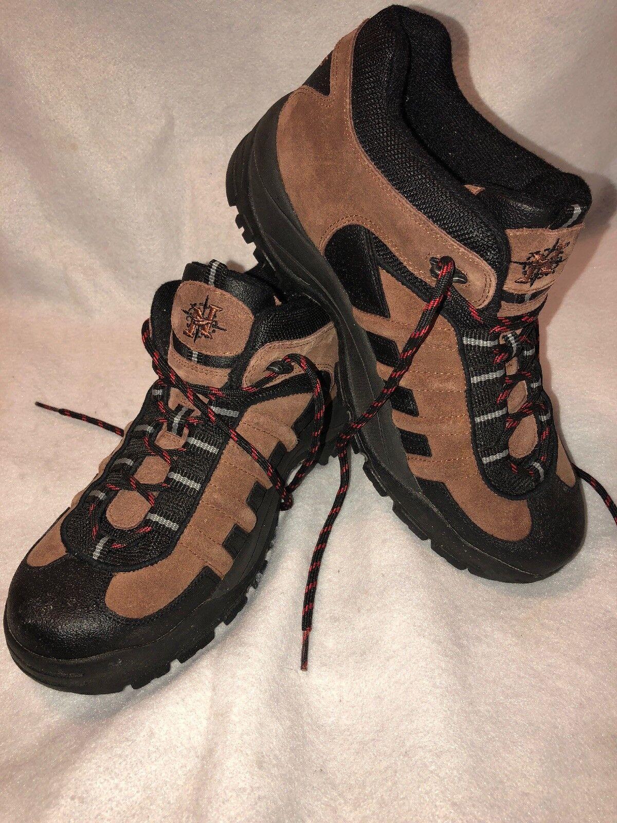 026430584f6 Nevados Men's Hiking BOOTS Low Hiking Shoe Vulcan Brown Black Size 8
