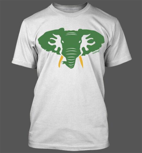 Oakland Athletics A/'s Baseball Stomper WEDOTHELEAN Hellaphant T-Shirt