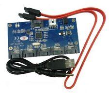 SATA 2.0 Port Multiplier Card / 1 To 5 Port SATA Card / SATAII Riser card