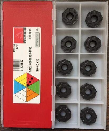 CERATIZIT OAKU 060508 SR-M50 CTC3215-1 Factory pack 10pcs
