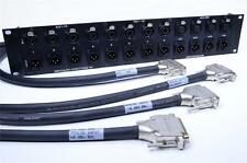 PRO TOOLS HD I/O 8 x 8 x 8 CONNECTOR PANEL FOR EASY HOOKUP