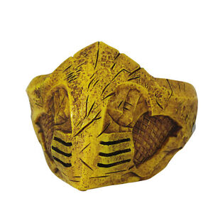 Cosplay-Mortal-Kombat-X-Mask-Cosplay-Scorpion-Mask-Gold-Halloween-Mask-Prop-New
