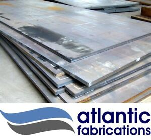 6mm mild steel sheet / plate - Various sizes available - Custom plasma cutting