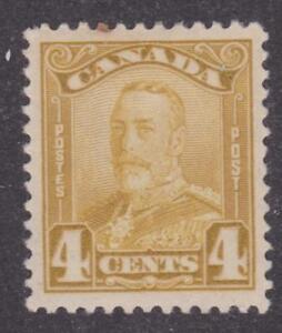 "Canada 1929 #152 King George V ""Scroll"" Issue - F MH"