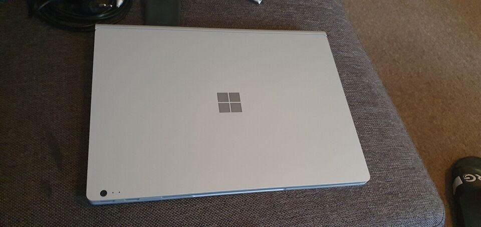 Microsoft SurfaceBook, i7 GHz, 16 GB ram