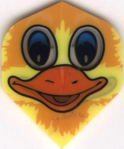 Duck Face Dart Flights 3 per set