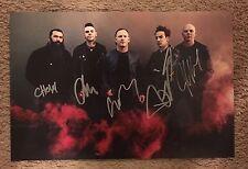 Stone Sour Signed 12x18 Photo Corey Taylor Slipknot PROOF
