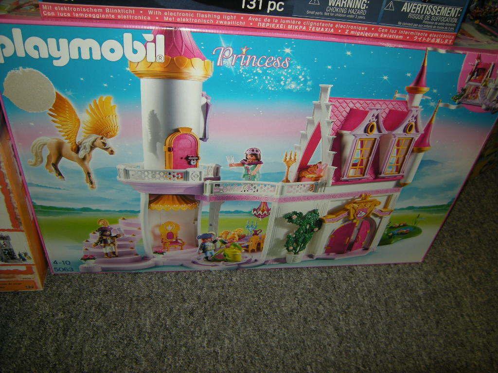 Playmobil Princess Prinzessinnenschloss mit Pegasus 4-10 Jahre Nr. 5063 OVP