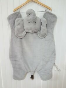 Pottery Barn Kids Baby Elephant Play Mat Rug Blanket Very