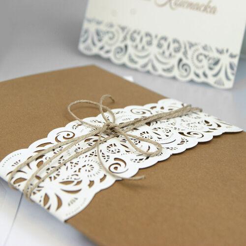 Geburtstagskarte, Einladungskarten Hochzeit F1336 mit Umschlag