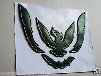 1993-1994-1995-1996-1997 Pontiac Firebird Front Bumper Emblem-green Metallic
