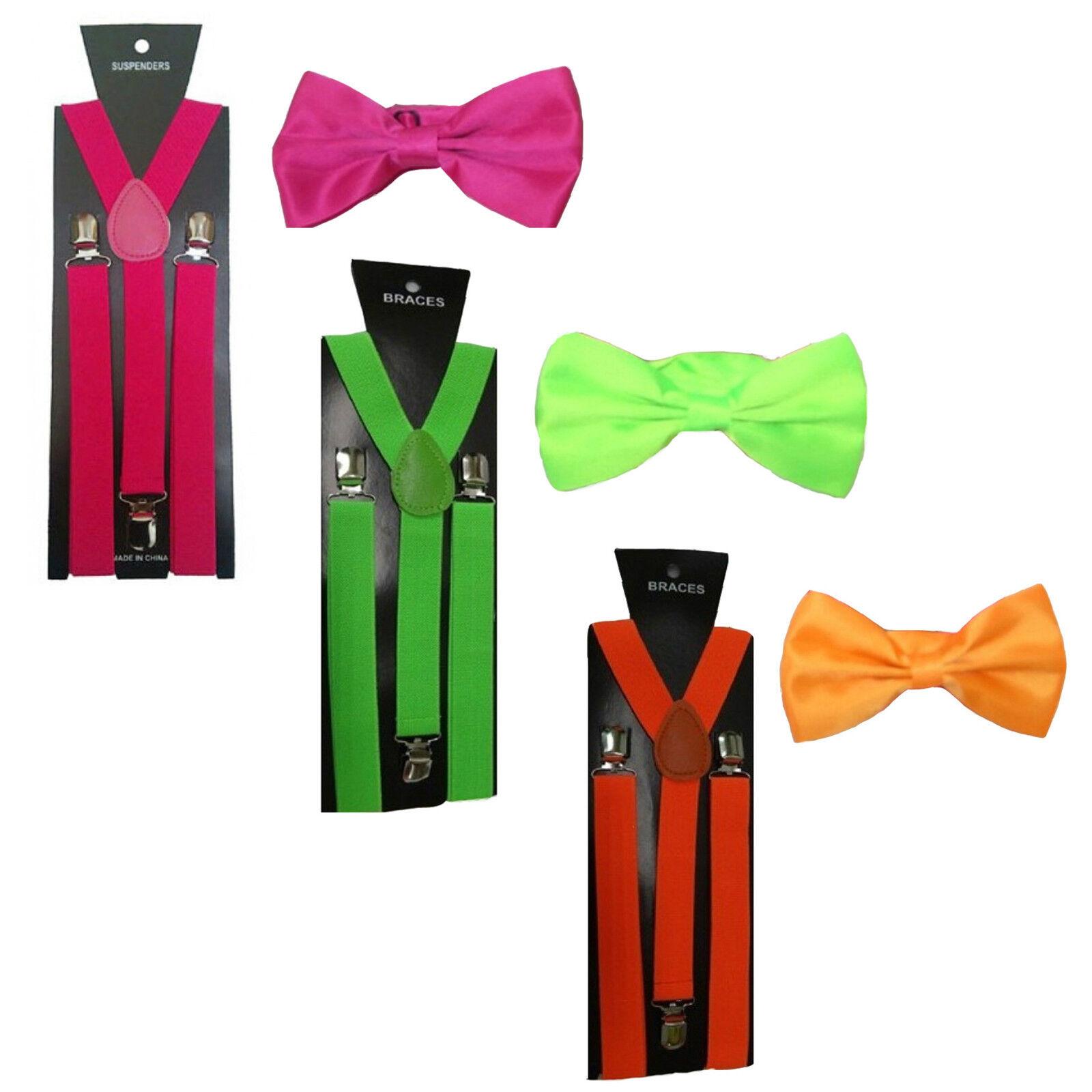 Mytoptrendz/® Plain Satin Pre Tied Adjustable Bow Tie White