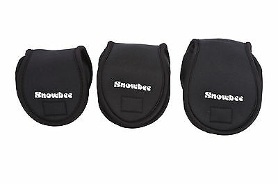 Snowbee Neoprene Reel Bags  available in 3 sizes