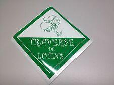 """8"""" TRAVERSE DE LUTINS ELVES CROSSING VINYL DECAL STICKER collants noel"""