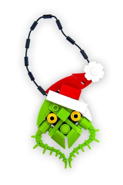 BrickCrafts Build-Your-Own LEGO® Cool Penguin Christmas Holiday Tree Ornament