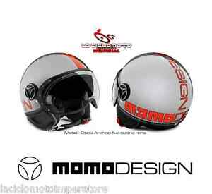 CASCO-JET-MOMO-DESIGN-FIGHTER-EVO-METAL-ARGENTO-DEC-ARANCIO-FLUO-FGTR-TAGLIA-S