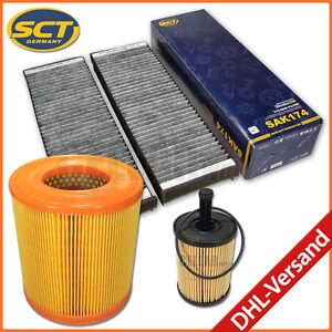 Audi a6 4f 2.0 TDIpolen filtro de carbón activado filtro de aire filtro aceite apretaste