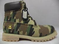 Men's Us Army Woodland Camoflage Boots-ua642002gcm