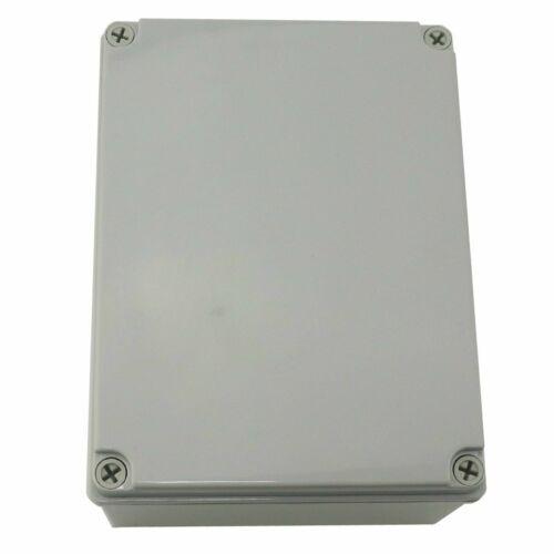 "Enclosure Box 8/""x6/""x4/"" Plastic Dustproof IP65 Junction Project Box Case NEW"