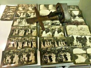 Keystone-View-Co-Stereograph-19-Photos-H-C-White-Co-amp-Keystone-Antique