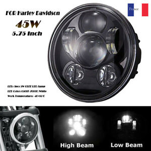 5-75-034-5-3-4-034-Harley-LED-Projection-phares-pour-Sportster-XL-883-1200-Dyna