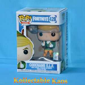 Details about Fortnite - Codename E L F  Pop! Vinyl Figure (RS) #428