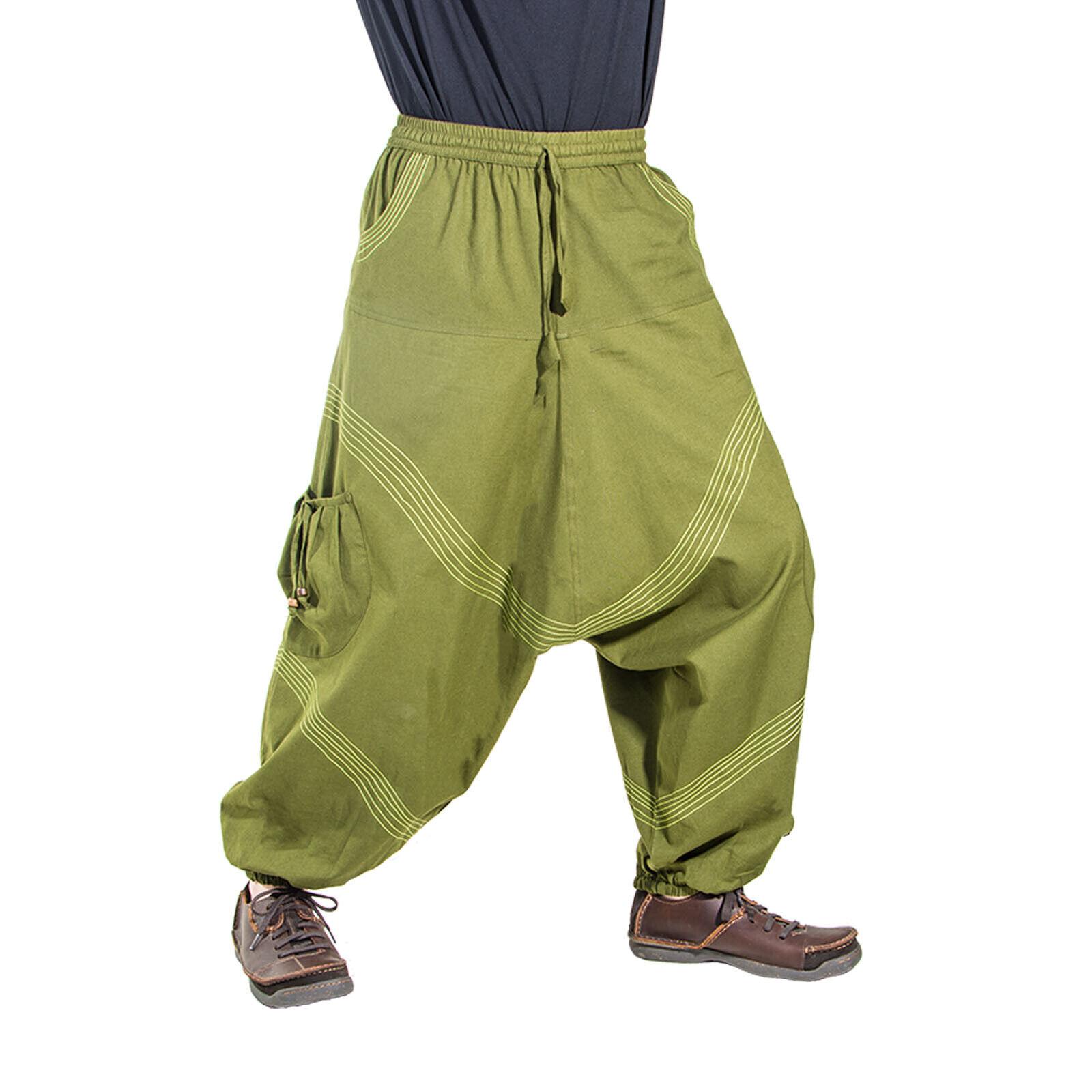 Arte e magia Uomo Goa Harem Pantaloni in colorei classici