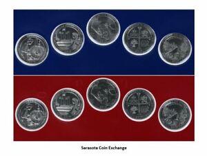 2019-Uncirculated-Quarters-US-Mint-Set-10-Sealed-Examples-P-D