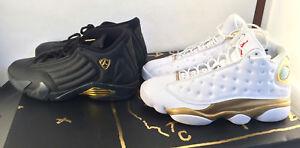 outlet store 703db e36c8 Image is loading Nike-Air-Jordan-13-14-DMP-Finals-Defining-