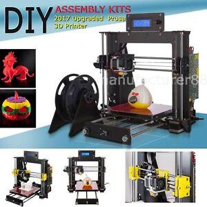 sans taxe! - CTC Prusa I3 Pro DIY imprimante 3D LCD MK8 printer ABS PLA WOOD