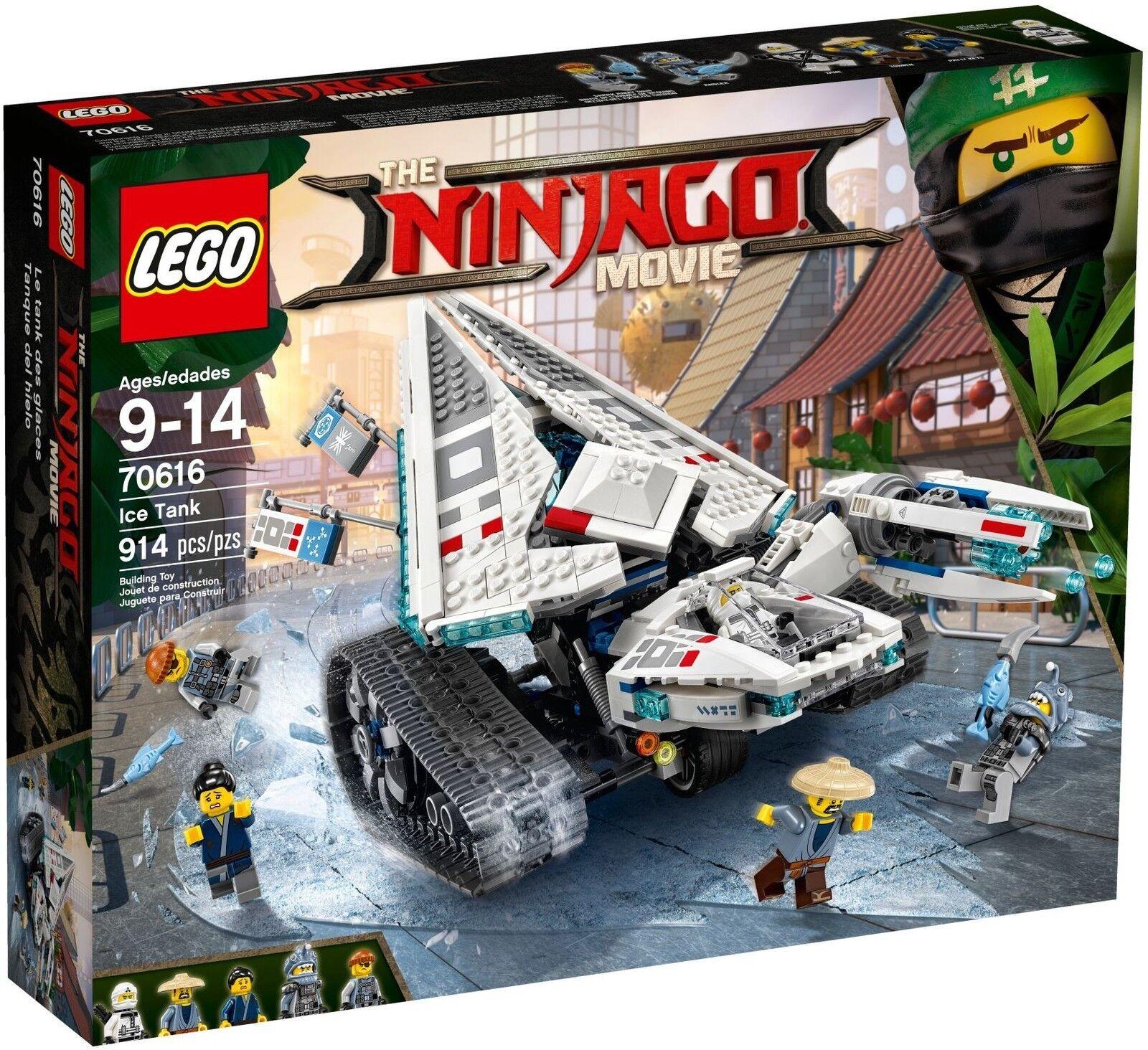 LEGO ® The LEGO ® Ninjago ® Movie ™ 70616 Zane'S GLACE-Chenille Nouveau Neuf dans sa boîte