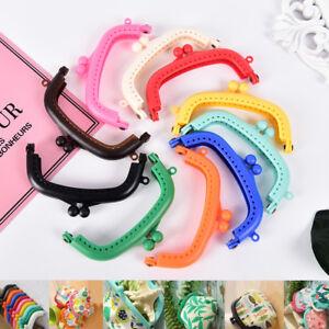 1X-New-Resin-Coin-Purse-Bag-Arc-Frame-Kiss-Clasp-Lock-Handbag-DIY-8-5cm-ti