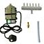 HAILEA-ACO-SERIES-AIR-COMPRESSOR-PUMP-hydroponic-koi-pond-fish-tank-compost-tea miniatuur 9