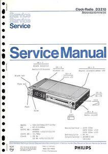 Philips Original Service Manual Für D 3210 Hohe QualitäT Und Preiswert Tv, Video & Audio
