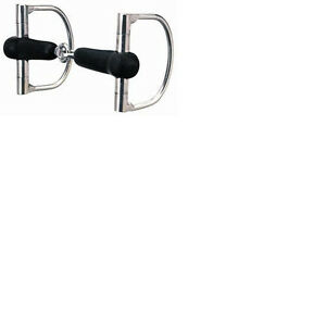 Weaver-Horse-Rubber-mouth-snaffle-bit-5-034-Horse-tack