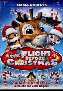 The Flight Before Christmas.Details About New Dvd The Flight Before Christmas Emma Roberts
