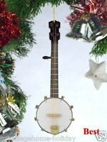 Ojo12box 5 Banjo Holiday Ornament Instrument Rock Band Stage Music Strings