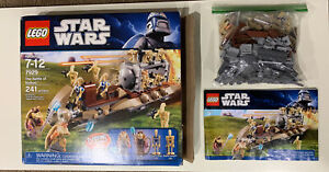LEGO Star Wars #7929 Battle of Naboo Complete All Minifigures Instructions Box