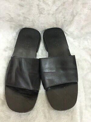 Vintage Gucci Black Leather Soft Wide