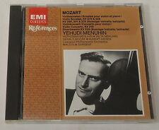 MOZART: Sonatas for Violins, YEHUDI MENUHIN CD