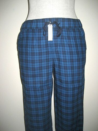 Southern Tide Womens Cotton Flannel Sleeping//Lounge pants Blue Moon Plaid NWT