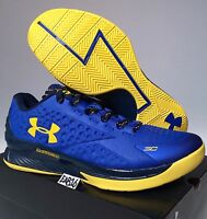 Stephen Curry One 1 Low Dub Nation Under Armour Home Away Blue Yellow Warriors