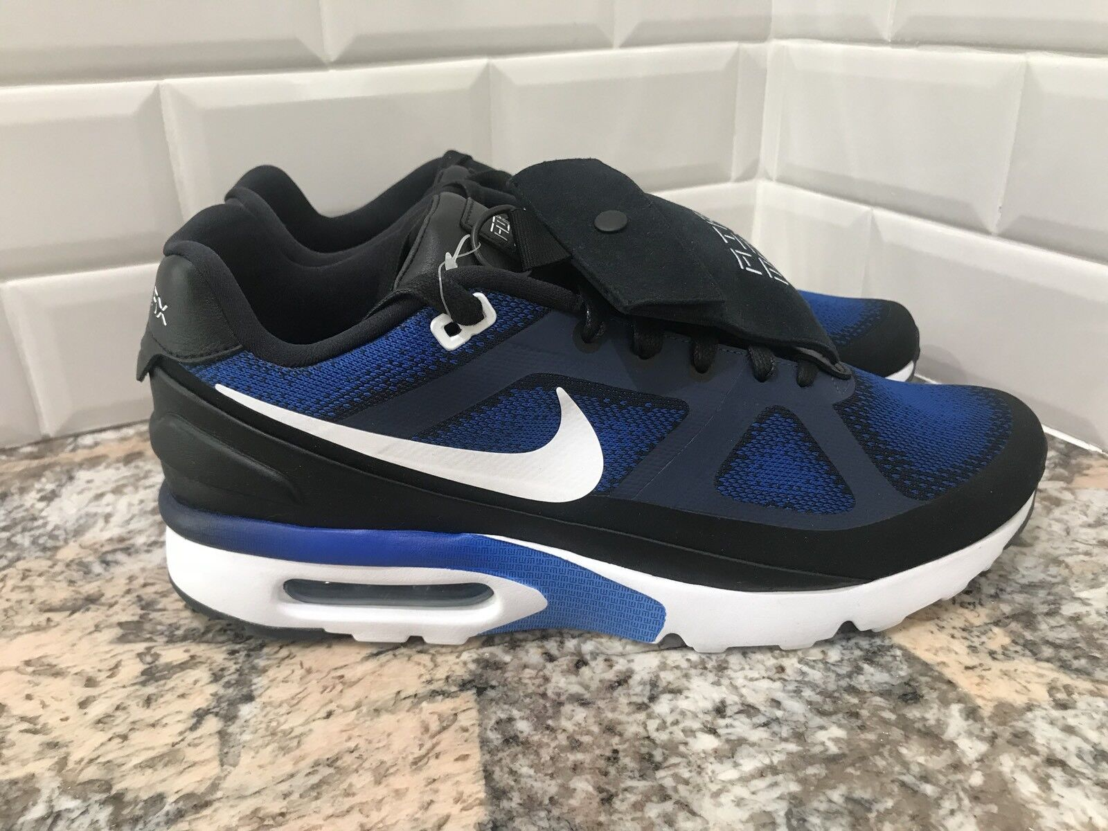 Nike air max mp ultra / mark parker reale sz blu bianco nero 848625-401 sz reale 11,5 ade753