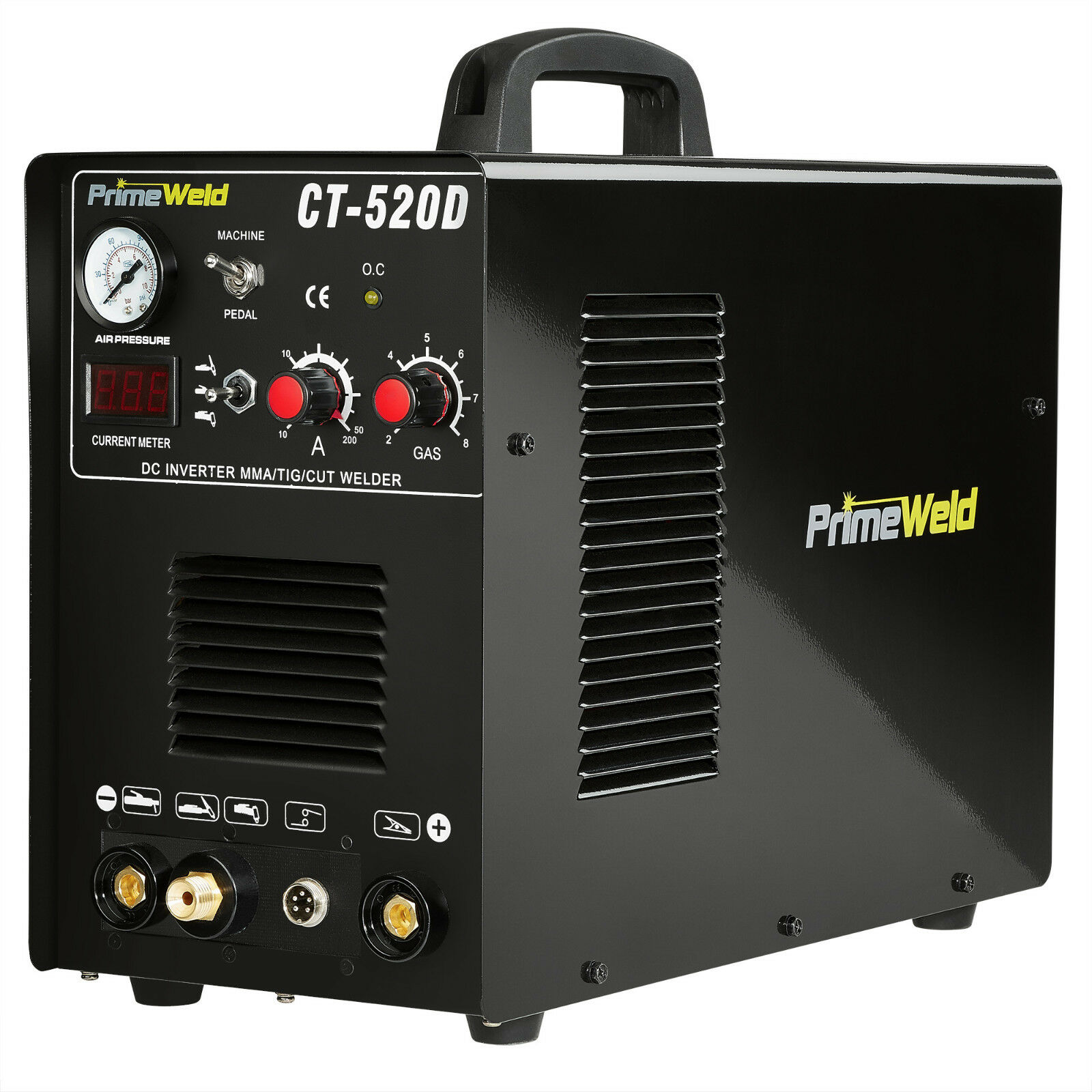 PRIMEWELD Plasma Cutter CT520D 50 A /200 A Tig Arc Mma Welder 110/220V  NEW. Buy it now for 379.00