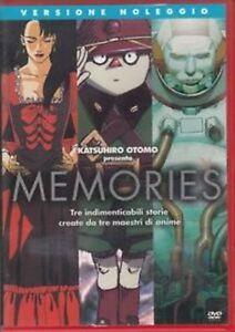 Memories-1995-DVD-RENT-NUOVO-Sigillato-Katsuhiro-Otomo-Morimoto-Okamura-Kanno