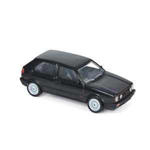 Norev-840063-VW-Golf-II-GTI-G60-schwarz-Jet-Car-Massstab-1-43-Modellauto-NEU