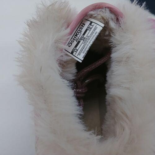 Oshkosh Filles Tarin Bébé Bottines à Lacets Chaussures Rose//Or-Tailles Diverses