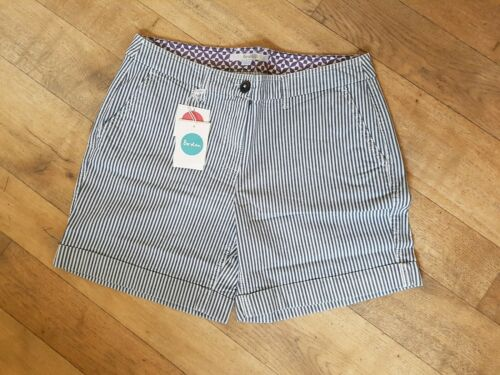 Blue//White BODEN  BNIB Chino Shorts UK 12