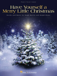 Have Yourself a Merry Little Christmas Song Piano Vocal Sheet Music Chord Lyrics | eBay